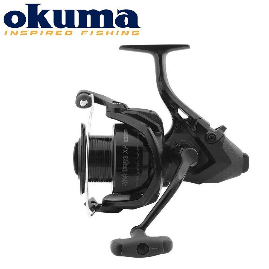 NEW 2019 Okuma DYNADRAG XP BAITFEEDER Carp Fishing Graphite Reel +spare spool