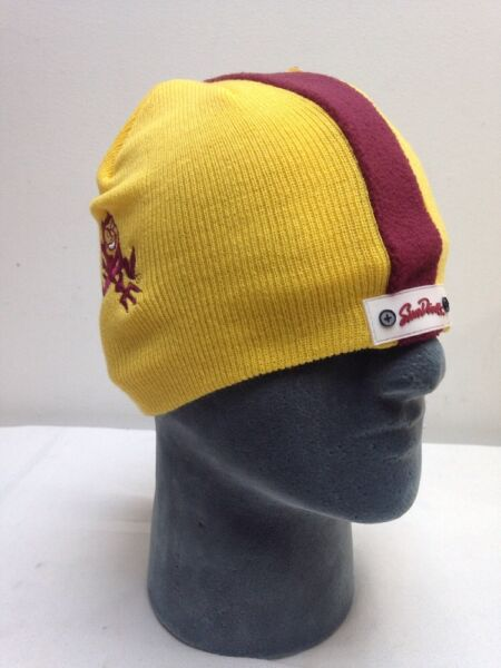 13cc55ad034 Hover to zoom · Arizona State Football Helmet Beanie Hat Skin College Winter  Hat Skull ...