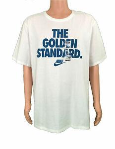 Nike-Men-039-s-Size-Athletic-T-Shirt-The-Golden-Standard-AO2994-100-Multiple-Sizes