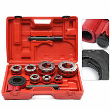 7 Size Pipe Threader Threading Tool Set 38 To 2 Dies Set With Handle Ratchet Us