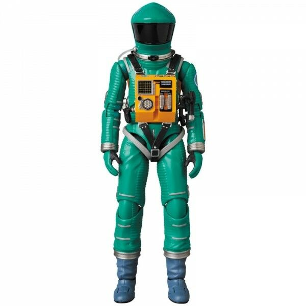 MEDICOM TOY MAFEX 2001 A SPACE ODISSEY SPACE SUIT verde VERSION NUOVO