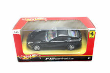 HOT WHEELS FERRARI F12 BERLINETTE BLACK 1/43 DIECAST CAR BCJ80