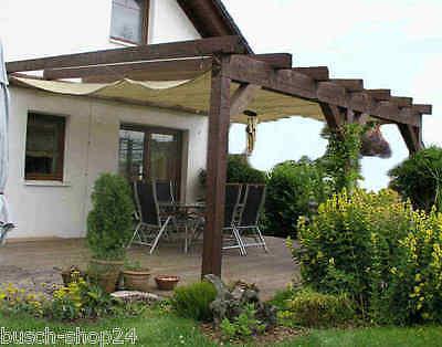 Bauplan Anleitung Zeichnung Holz Pultdach Carport Terrassendach Überdachung  P1