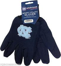 NCAA North Carolina Tar Heels Non-Slip Gripper Sport Adult Utility Work Gloves