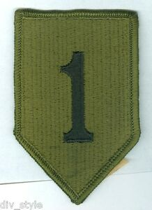 1st-Infantry-Division-US-Army-subdued-patch