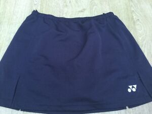 YONEX-CHARCOAL-GREY-SKORT-SKIRT-SHORTS-TENNIS-BADMINTON-GOLF-SPORTS-SQUASH
