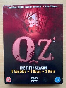 Oz-Season-5-DVD-Box-Set-HBO-Prison-Drama-TV-Series