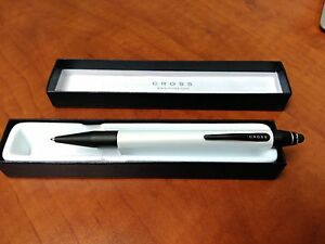 Cross Pearlescent White Tech 2.2 Ball Point Pen With Built In Stylus