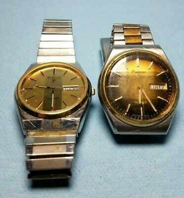 Pulsar Watches For Parts Or Repair