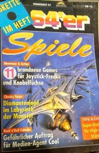64er-Sonderheft-97-11-Spiele-C64-1993-Markt-amp-Technik-Verlag-Magazin