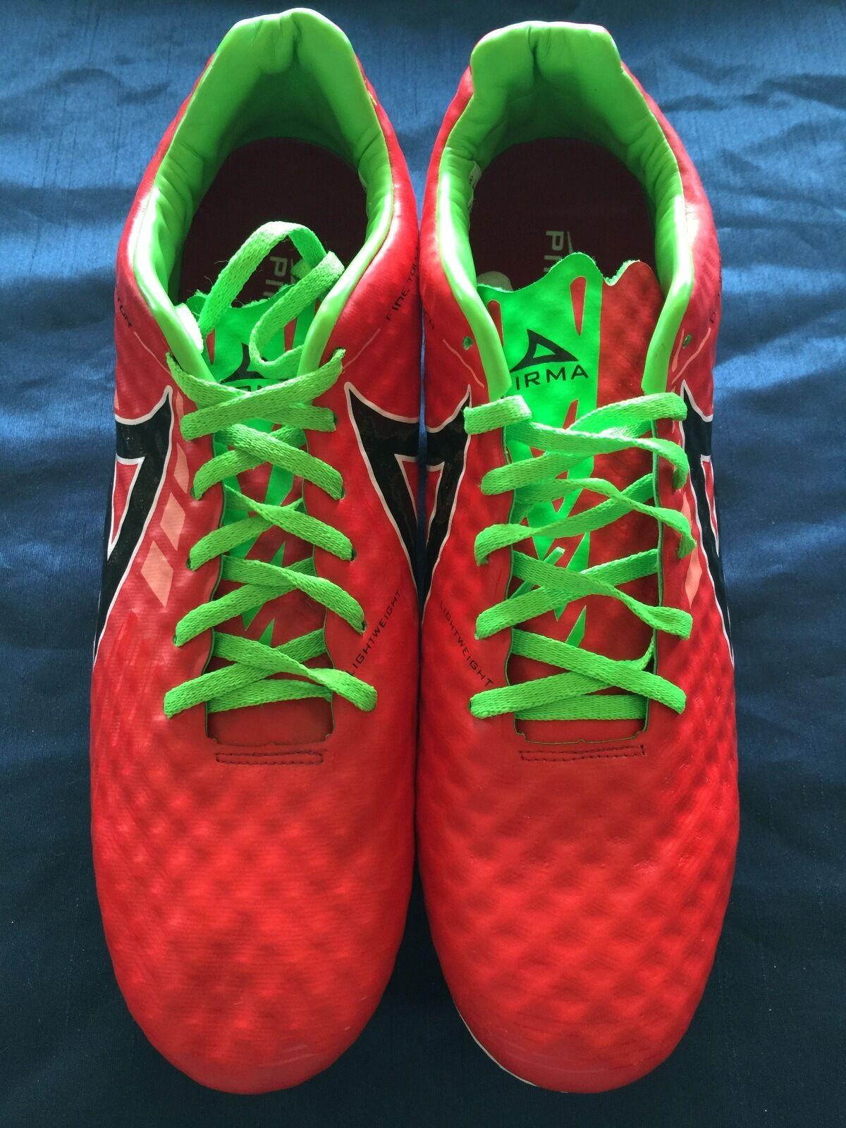 nuovo, PIRMA Detonator, cleats-Style 566-rosso, Futbol, Footbtutti.