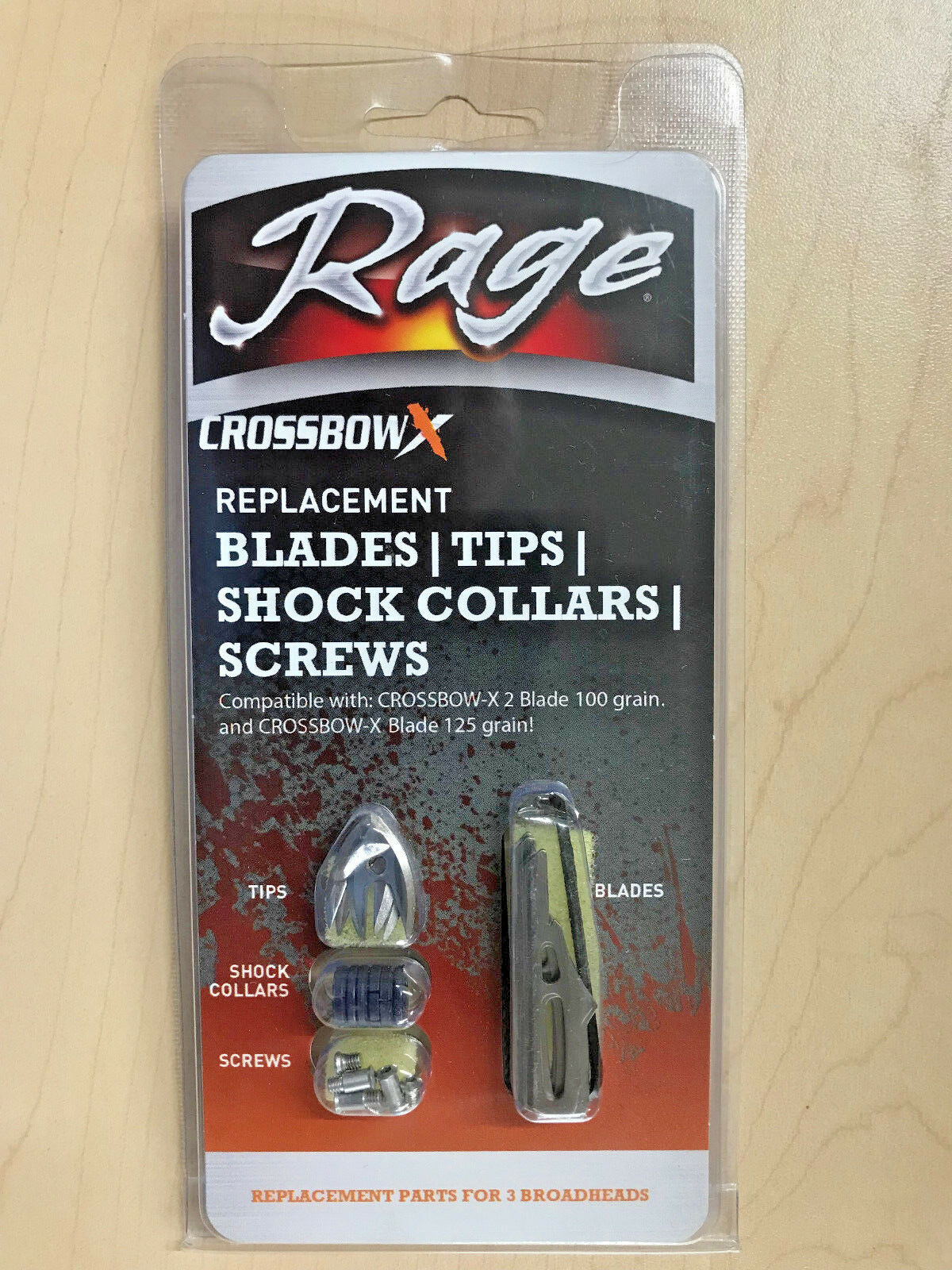Rage Trypan Crossbow Replacement Shock Collars