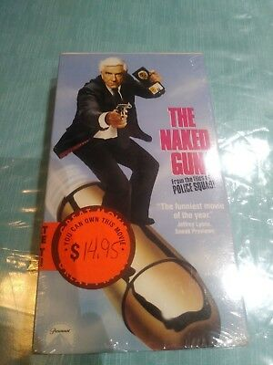 The Naked Gun: From the Files of Police Squad (VHS) for