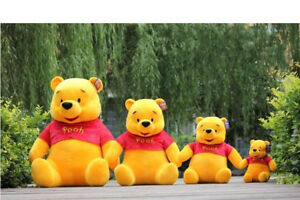 17e21446ee12 Winnie the Pooh Bear Stuffed Soft Toy Animal Plush Doll Teddy Kids ...