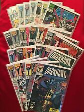 Darkhawk Marvel Comics comic book lot