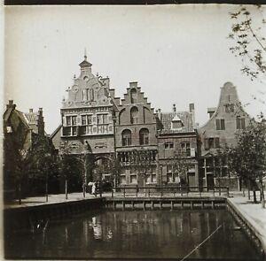 Bassi-O-Belgium-Architettura-c1910-Foto-Stereo-Placca-Da-Lente-VR12hd1