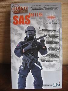 "1/6 12""  GI JOE ACTION MAN BBi BRITISH SAS ELITE FORCE POLICE GENDARMERIE"