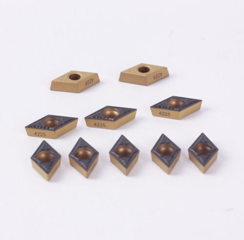 10pcs new DCMT11T304-PM 4225 DCMT32.51-PM CNC TOOL Carbide  INSERT  FOR steel