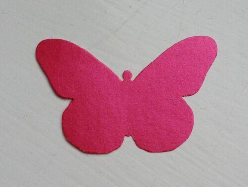 - BLOCK COLOUR Paper Punches MULTI LISTING Butterflies Monarch 30 Pieces