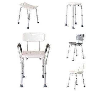 Details zu Homcom Duschhocker Badestuhl Duschstuhl Badehocker Badezimmer  Hocker Stuhl 5-Typ