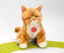 Teddy Hermann Katze stehend rot getigert 20 cm 90682 Kuscheltier Plüschtier Neu