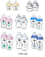 Tommee-Tippee-Closer-150ml-260ml-340ml-Decorated-Bottles-Blue-Pink-Clear thumbnail 2