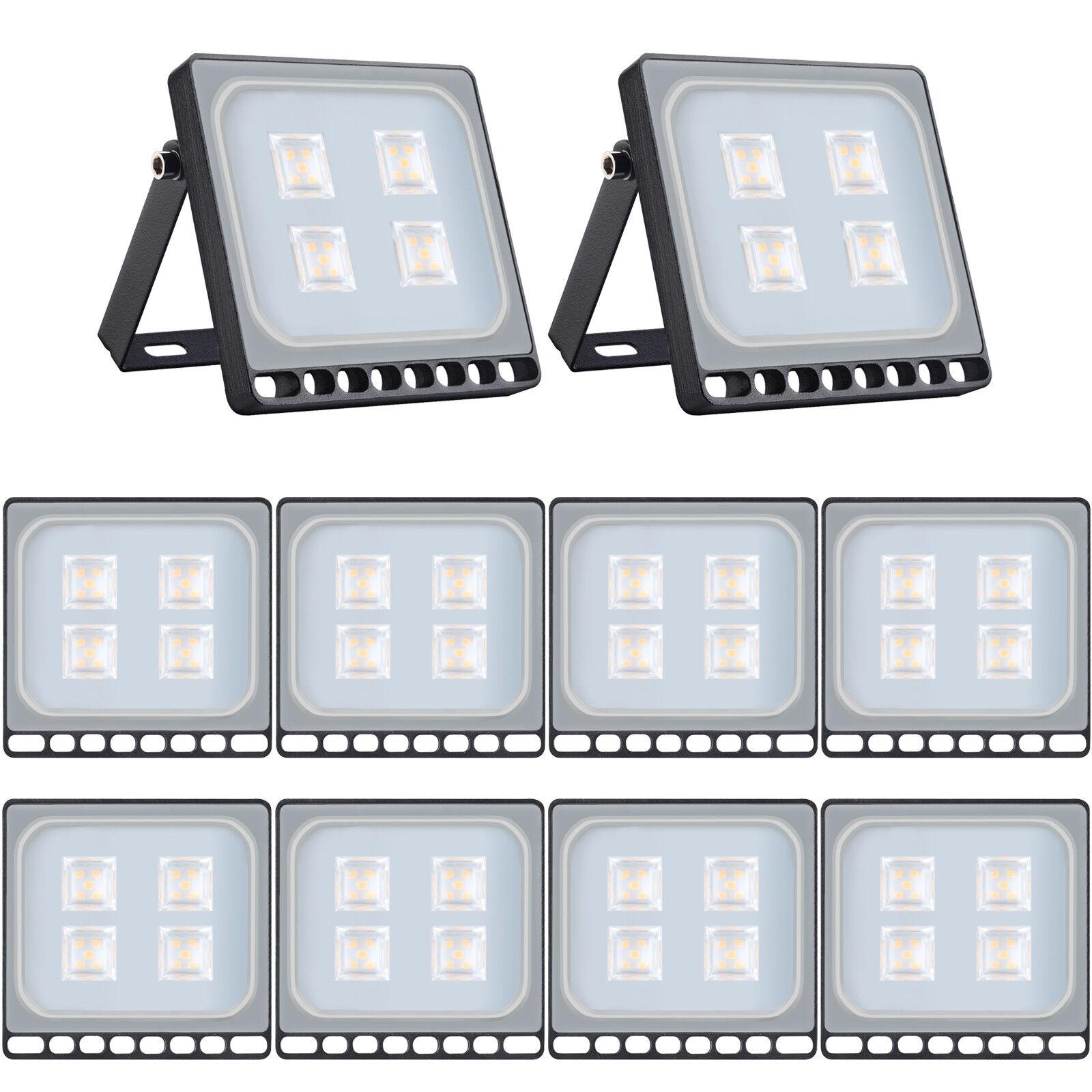 10x 20w LED eh reflector colocado exterior emisor de luz exterior ip65