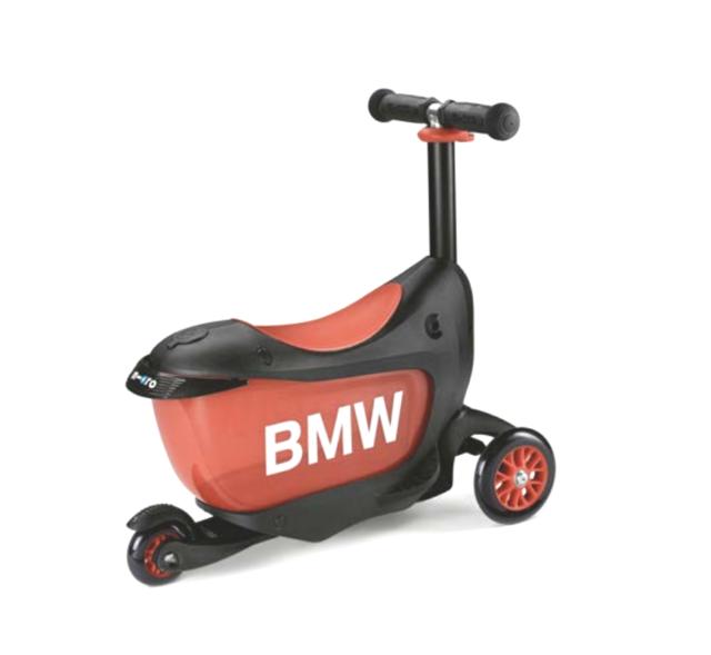Bmw Kinder Roller Schwarz Orange 80932450901 Günstig Kaufen Ebay