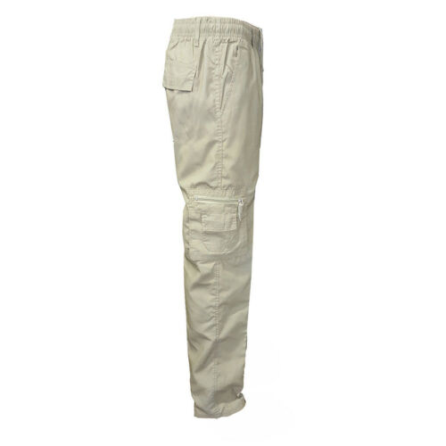 Cargo Combat Pants Mens Work Army Military Camo Jogger Hikiing Trouser Bottoms