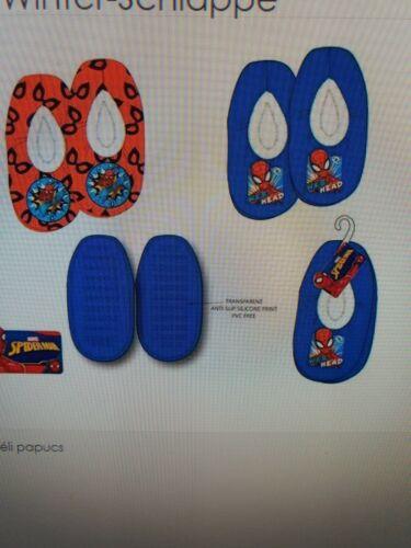 Marvel Spiderman Hausschuhe Puschen Kinder Hüttenschuhe Hauslatschen Pantoffeln