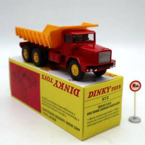 Dinky-Super-toys-572-Berliet-G-B-O-AVEC-Benne-Carriere-Basculante-Atlas-Diecast