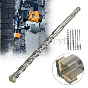16-14-12-10-8-6mm-SDS-Plus-Masonry-Hammer-Drill-Bits-For-Bosch-Concrete-Tungsten