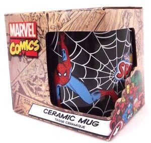 Marvel-Comics-Ultimate-Spider-Man-Boy-039-s-Kids-Ceramic-Character-Graphic-Mug-14-Oz