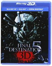 Final Destination 5 3D/2D(Blu-ray, 2-Disc, 3D, English/Russian/French)RegionFREE