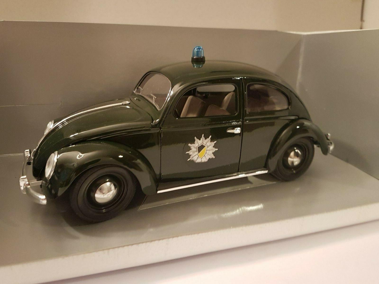 ++ Solido Polizei VW Käfer, Stuttgart, Prestige Model, 1 18, OVP, top ++