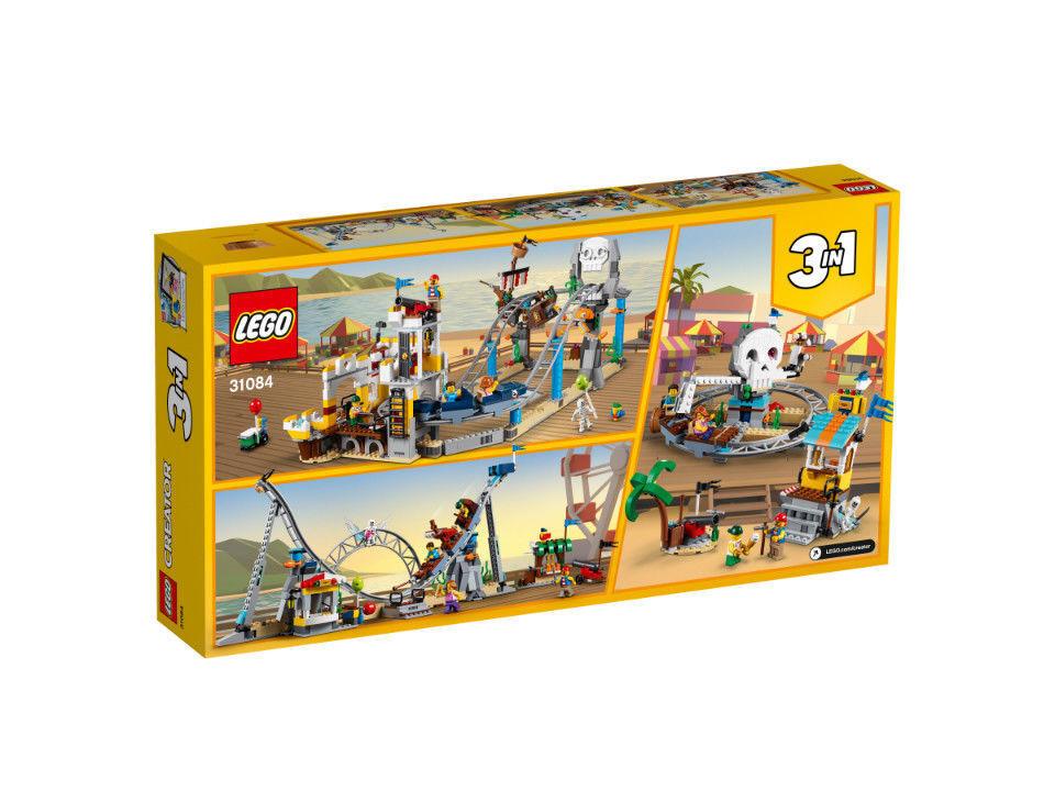 LEGO Creator-pirati sulle montagne russe  31084