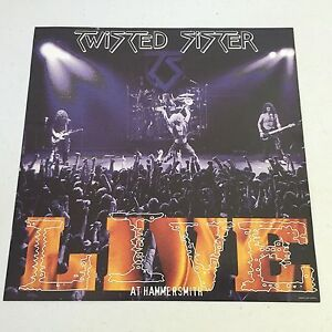 Twisted-Sister-12-034-X-12-034-POSTER-LIVE-AT-THE-HAMMERSMITH-ODEON-LONDON-NEW