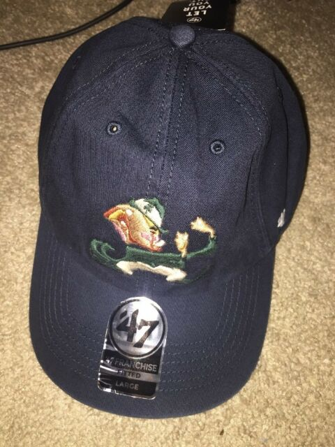 77903c01271 Frequently bought together. NCAA Notre Dame Fighting Irish  47 Brand  Franchise Fitted Hat ...