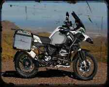 BMW R1200Gs Adventure 14 3 A4 Foto Impresión moto antigua añejada De