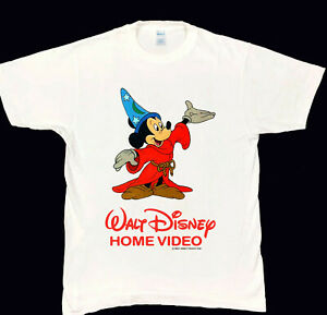 MICKEY MOUSE Walt Disney Home Video T-Shirt 70s 80s