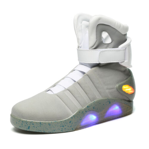 BACK TO THE FUTURE WARRIOR BASKETBALL LED LIGHT SHOES KEY CHAIN Cool Stylish