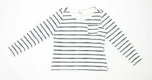 Craghoppers-Womens-Size-14-Striped-Cotton-Blend-Multi-Coloured-T-Shirt-Regular