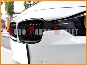 Image Is Loading P Style Matte Black Front Grill Grille For