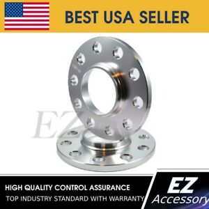2 PCS billet HubCentric Wheel Spacers 5x112mm 10mm thickness 57.1mm hub bore