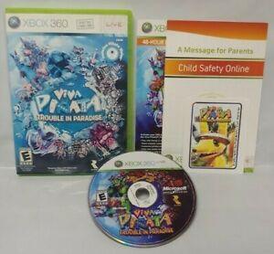 Viva-Pinata-Trouble-in-Paradise-Game-Microsoft-Xbox-360-Rare-Tested-Works