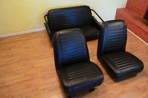 International-Scout-800-original-upholstery-full-set-black-IH-scout-800