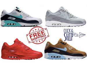 2890e0f581c Nike Air Max 90 Essential MENS Shoe Lifestyle Retro Sneakers White ...
