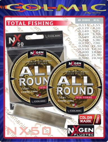 Monofilament Angelrolle Colmic Nxgen Fluotec All Round Mt 300