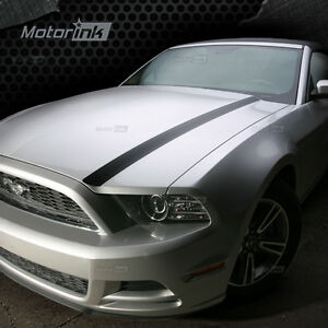 Details About 2017 Ford Mustang Hood Spears Side Stripes Accent Vinyl Decals Graphics