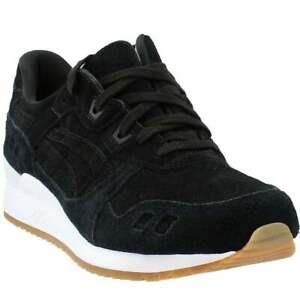 ASICS-GEL-Lyte-Informal-Zapatos-Negro-III-para-hombre